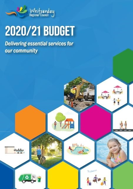 Budget booklet front cover