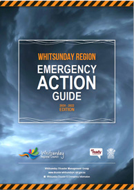 Emergency action guide front cover