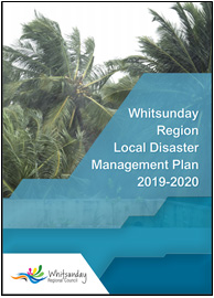 Local disaster management plan front cover